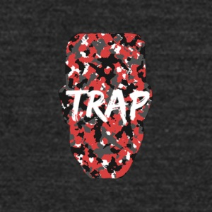 SUPLEXE KID TRAP RED CAMO - Unisex Tri-Blend T-Shirt by American Apparel