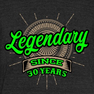 Legendary since 30 years t-shirt and hoodie - Unisex Tri-Blend T-Shirt by American Apparel