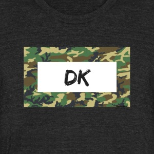 Camo - Unisex Tri-Blend T-Shirt by American Apparel