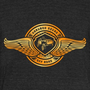 Squad Off Road - Unisex Tri-Blend T-Shirt by American Apparel