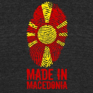 Made in Macedonia - Unisex Tri-Blend T-Shirt by American Apparel