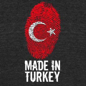 Made in Turkey / Türkiye - Unisex Tri-Blend T-Shirt by American Apparel