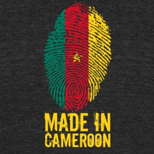 Made in Cameroon / Cameroun - Unisex Tri-Blend T-Shirt by American Apparel