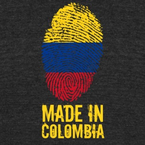 Made in Colombia - Unisex Tri-Blend T-Shirt by American Apparel
