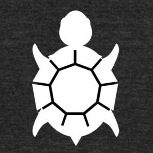 White Turtle - Unisex Tri-Blend T-Shirt by American Apparel