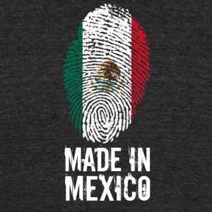 Made In Mexico / México - Unisex Tri-Blend T-Shirt by American Apparel