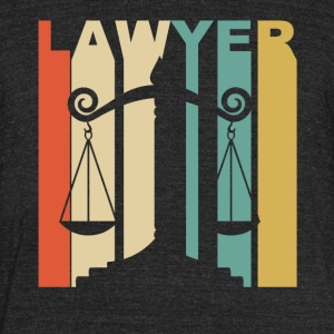Vintage Lawyer Graphic - Unisex Tri-Blend T-Shirt by American Apparel