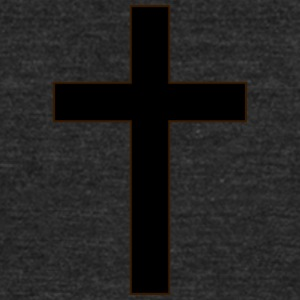 Christian Cross - Unisex Tri-Blend T-Shirt by American Apparel