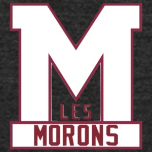 the Morons - Unisex Tri-Blend T-Shirt by American Apparel