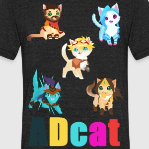 ADCAT - Unisex Tri-Blend T-Shirt by American Apparel
