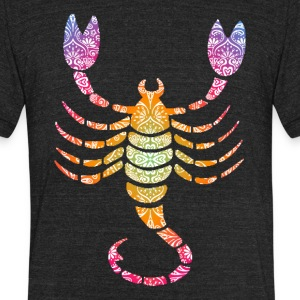 goatee scorpio - Unisex Tri-Blend T-Shirt by American Apparel