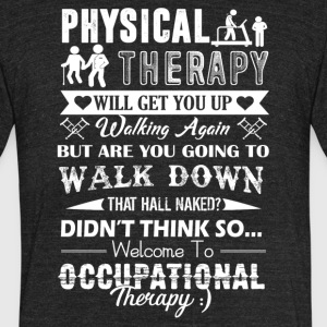 Occupational Therapy Shirt - Unisex Tri-Blend T-Shirt by American Apparel