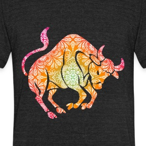 goatee taurus - Unisex Tri-Blend T-Shirt by American Apparel