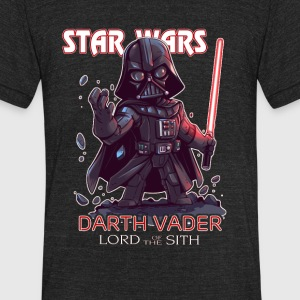 Darth vader - Unisex Tri-Blend T-Shirt by American Apparel