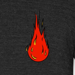Fuego 1.1 - Unisex Tri-Blend T-Shirt by American Apparel