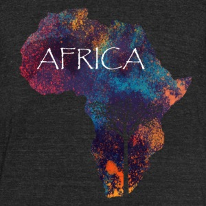 African Origins - Unisex Tri-Blend T-Shirt by American Apparel