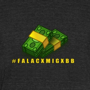 FALACXMIGXBB - Unisex Tri-Blend T-Shirt by American Apparel