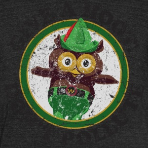 Woodsy the Owl - Unisex Tri-Blend T-Shirt by American Apparel