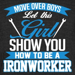 Ironworker Shirt - Unisex Tri-Blend T-Shirt by American Apparel
