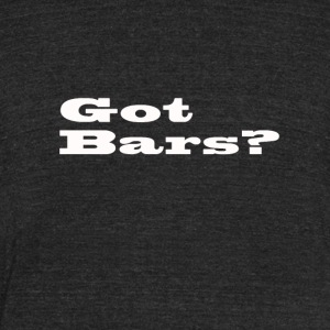 bars - Unisex Tri-Blend T-Shirt by American Apparel