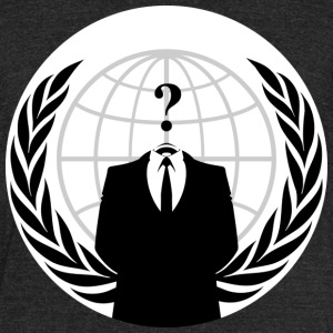 Anonymous Hacker - Unisex Tri-Blend T-Shirt by American Apparel