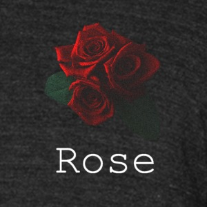 Rose [White] - Unisex Tri-Blend T-Shirt by American Apparel