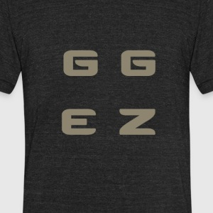 Good Game Easy - Unisex Tri-Blend T-Shirt by American Apparel