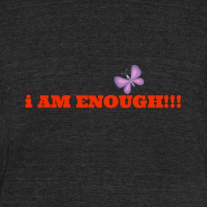 IAMENOUGH3 - Unisex Tri-Blend T-Shirt by American Apparel