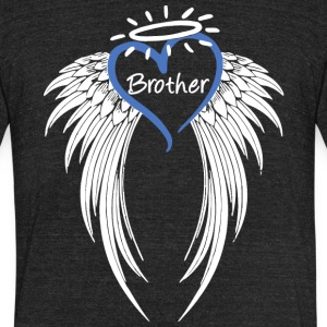 Angel Brother T Shirt - Unisex Tri-Blend T-Shirt by American Apparel