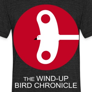 The Wind Up Bird Chronicle - Unisex Tri-Blend T-Shirt by American Apparel