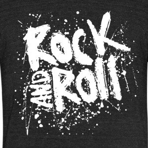 Rock_And_Roll - Unisex Tri-Blend T-Shirt by American Apparel