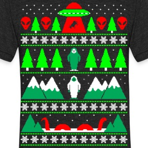 Paranormal Christmas - Unisex Tri-Blend T-Shirt by American Apparel