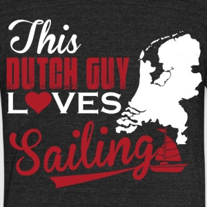 This dutch guy - Unisex Tri-Blend T-Shirt by American Apparel