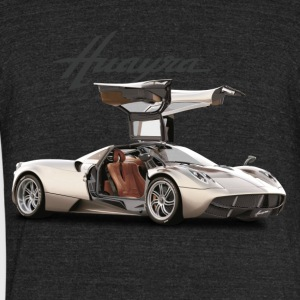 Pagani Huayra - Unisex Tri-Blend T-Shirt by American Apparel