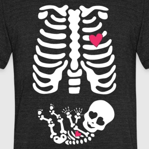 Skeleton baby - Unisex Tri-Blend T-Shirt by American Apparel