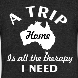 A trip to Australia - Unisex Tri-Blend T-Shirt by American Apparel
