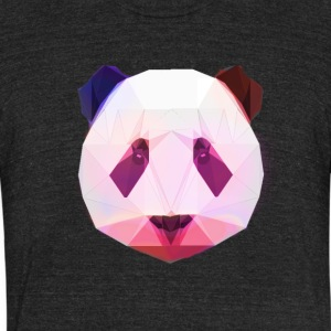 PandaDesign - Unisex Tri-Blend T-Shirt by American Apparel