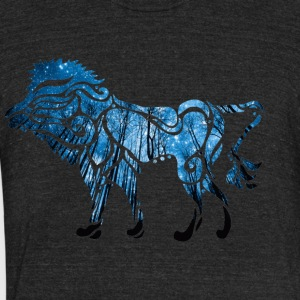 Lion Heart - Unisex Tri-Blend T-Shirt by American Apparel