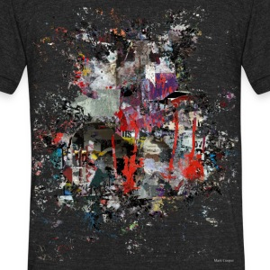 Urban Splash - Unisex Tri-Blend T-Shirt by American Apparel