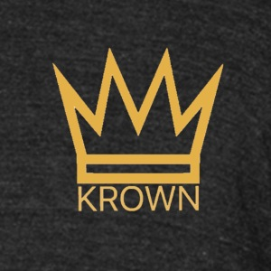 KrownClothingCo Logo - Unisex Tri-Blend T-Shirt by American Apparel