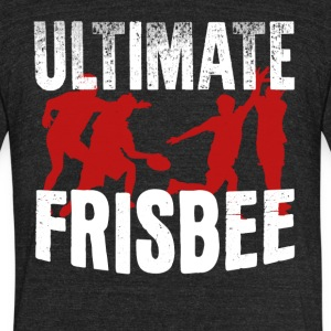 Ultimate Frisbee Shirt - Unisex Tri-Blend T-Shirt by American Apparel