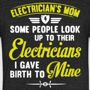 Electrician Mom Shirt - Unisex Tri-Blend T-Shirt by American Apparel