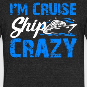 Cruise Ship Shirt - Unisex Tri-Blend T-Shirt by American Apparel