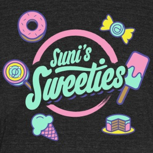 Colored Sunis Sweeties - Unisex Tri-Blend T-Shirt by American Apparel