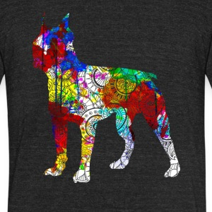Boston Terrier Shirts - Unisex Tri-Blend T-Shirt by American Apparel