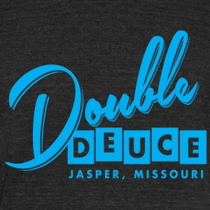 Double Duece - Unisex Tri-Blend T-Shirt by American Apparel
