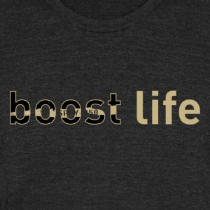 Olive Yeezy V2 Boost Life Short Sleeve T-Shirt - Unisex Tri-Blend T-Shirt by American Apparel
