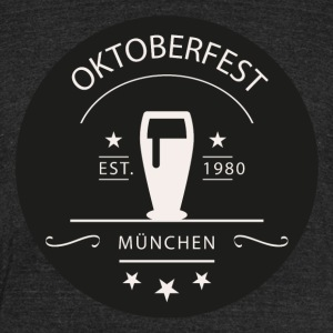 Oktoberfest - Unisex Tri-Blend T-Shirt by American Apparel