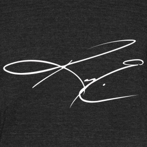 Frost Signature - Unisex Tri-Blend T-Shirt by American Apparel