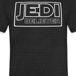 JEDI BELIEVER - Unisex Tri-Blend T-Shirt by American Apparel
